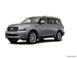 2014 Infiniti QX80 w/ Theater Package, Split Bench Seat & 22 Inch Wheels in Charleston, South Carolina