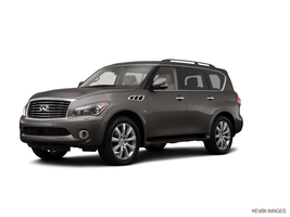 2014 Infiniti QX80 AWD w/ Theater Package and 22 inch Wheels in Charleston, South Carolina